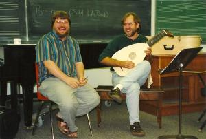 masterclass with Paul O'Dette, Lute Society of America Summer Seminar West, Vancouver Early Music Festival 1996