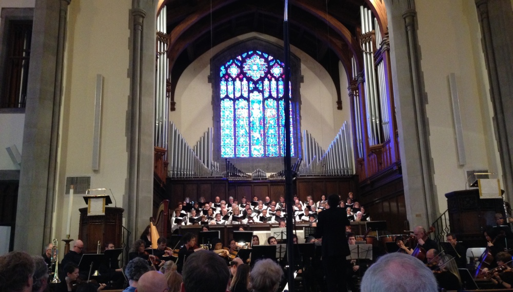 Brahms Requiem at West End UMC (1/2)