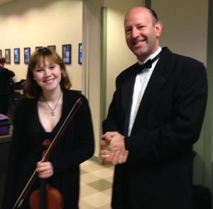 Blake Skelton, violin, CYS and Jeremy Williams, violin, Nashville Symphony