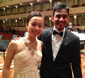 Kaili Wang, winner of the 2015 Curb Concerto Competition Vinay Parameswaran, May 21, 2015