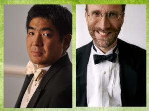 Jun Iwasaki, concertmaster; Roger Wiesmeyer, English Horn