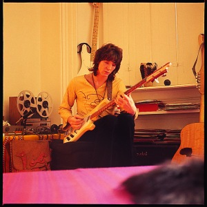 Chris Squire circa 1972 - from Fragile