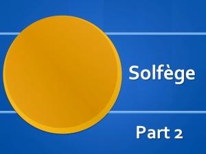 SolfegePart2