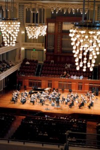 MCYO performs in Laura Turner Hall at Schermerhorn Symphony Center, May 22, 2011