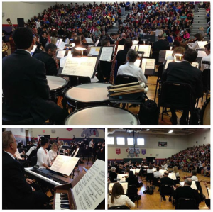 the Nashville Symphony performs at Oliver Middle Prep, October 13, 2015