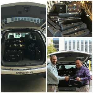 a van full of instruments for MNPS students through the Nashville Symphony's Instrument Loan Program