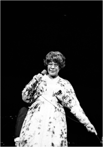 Ella Fitzgerald, late 1970s ~ photo by Gai Terrell