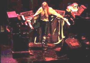 Rick Wakeman being way cooler than I will ever be, sometime in the 1970s