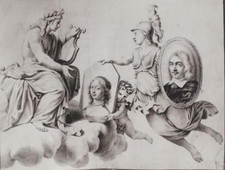 engraving by Robert Nanteuil from La Rhétorique des Dieux, 1652