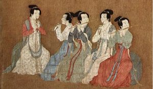 ancient Chinese musicians