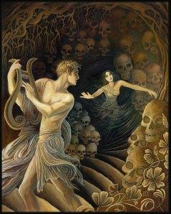 Orpheus & Eurydice, 2012 by Emily Balivet