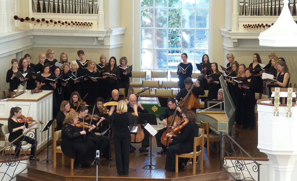 Music City Baroque & Vox Grata perform music from the Venetian Ospedale, January 24, 2016, Westminster Presbyterian Church, Nashville