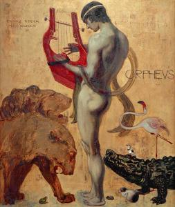 Orpheus by Franz von Stuck (1863-1928)