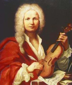 Antonio Vivaldi (1678-1741) ~ anonymous portrait, 1723