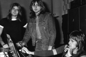 Emerson, Lake & Palmer circa 1970 - (l to r) Carl Palmer, Greg Lake, Keith Emerson