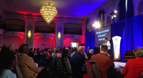 Afa Dworkin introduces SphinxCon 2016, February 5, 2016, Detroit