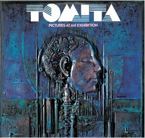 Isao Tomita: Pictures at an Exhibition, original album cover, 1975
