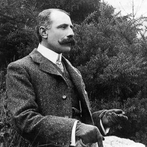 Sir Edward Elgar. c. 1900