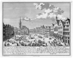 Frankfurt am Main in the early 18th century