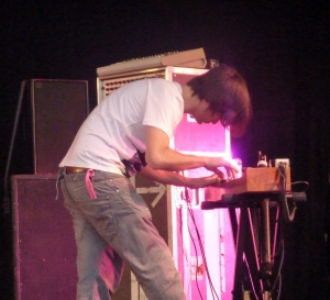 Jonny Greenwood playing ondes Martenot, 2010 ~ photo by wonder