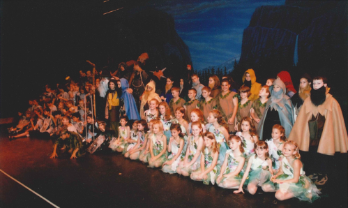 the Carrollwood Day School cast of The Hobbit, Tampa Bay Performing Arts Center, March 18, 2003