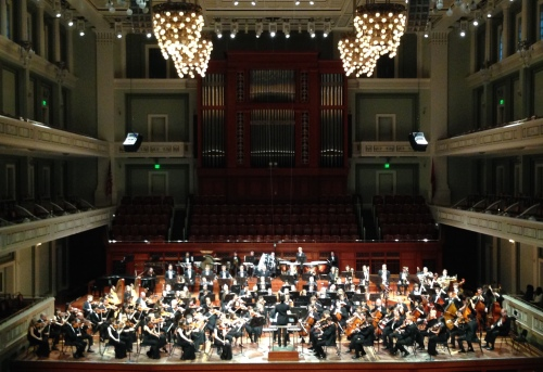The Nashville Symphony and Curb Youth Symphony perform the annual Side By Side concert, May 19, 2016, Schermerhorn Symphony Center, Nashville