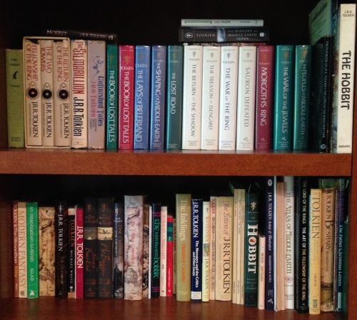 some of my Tolkien books