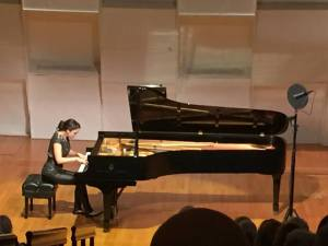 Olga's New York debut, photo posted on Facebook January 31, 2016