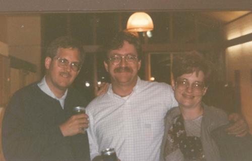 Mike Peterson, Dick Hoban, & Caroline Usher