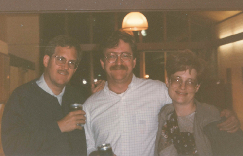 Mike Peterson, Dick Hoban, & Caroline Usher