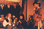 Winter Solstice celebration at Blue Rock School, 1991
