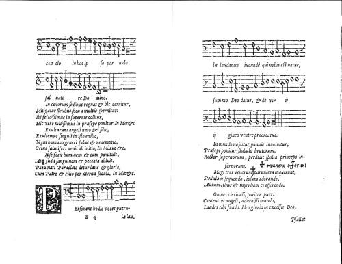 Personent Hodie, Piæ Cantiones, 1582