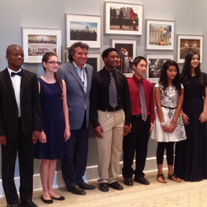 from my Instagram feed: the first class of Accelerando poses with Nashville Symphony music director Giancarlo Guerrero, August 20, 2016
