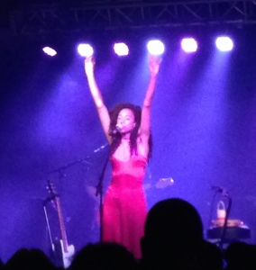 Corinne Bailey Rae at the Cannery Ballroom, Nashville, August 16, 2016