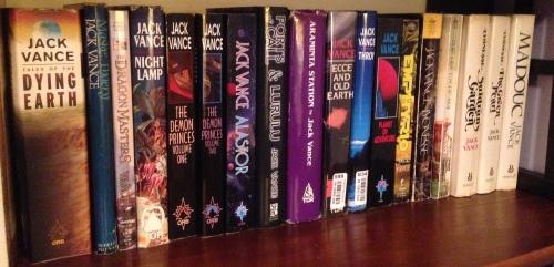 some of my Jack Vance books