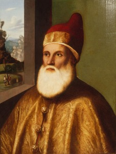 Portrait of Doge Agostino Barbarigo by Marco Basaiti, 1518