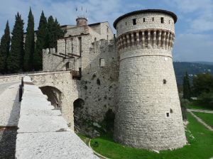 The medieval castle of Brescia, which towers over the city, would have been a constant and familiar presence in the life of Vincenzo Capirola.