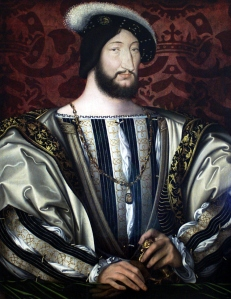 portrait of Francis I of France (1494-1547) c.1530 by Jean Clouet (1475-1540)
