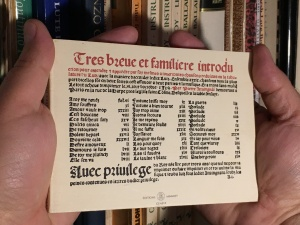 facsimile of Attaingnant's Tres brevet familiere introduction... (1529) by Editions Minkoff, Geneva, 1988
