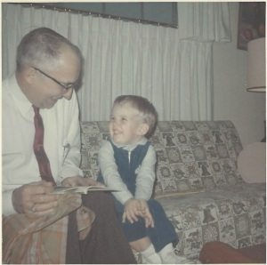 (l to r) Walter Bitner & Walter Bitner, late 1960s